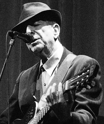 Leonard Cohen in 2008. Image credit: Rama; used under CC-BY-SA-2.0.FR and CeCILL licences