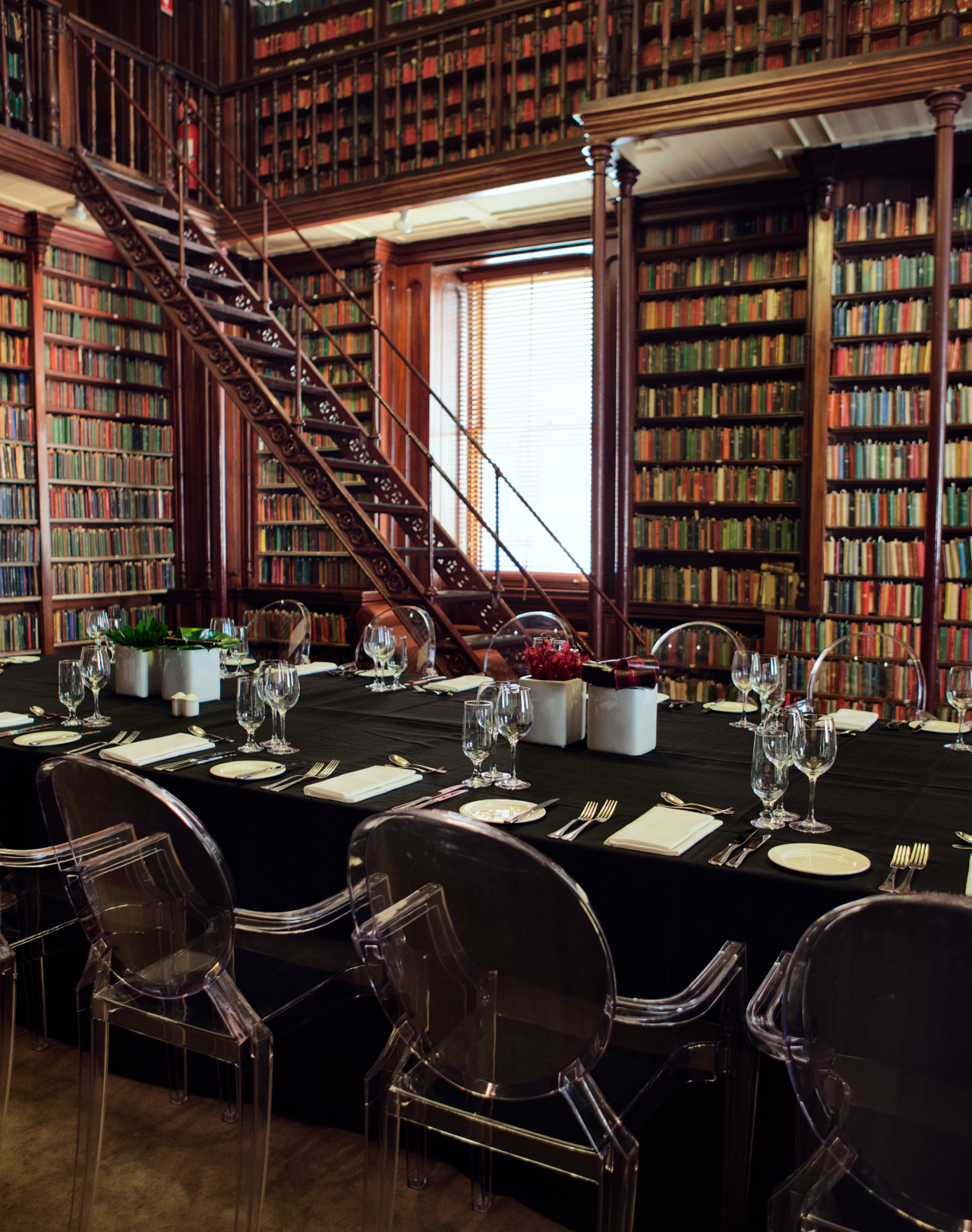 Circulating Library, dinner seating