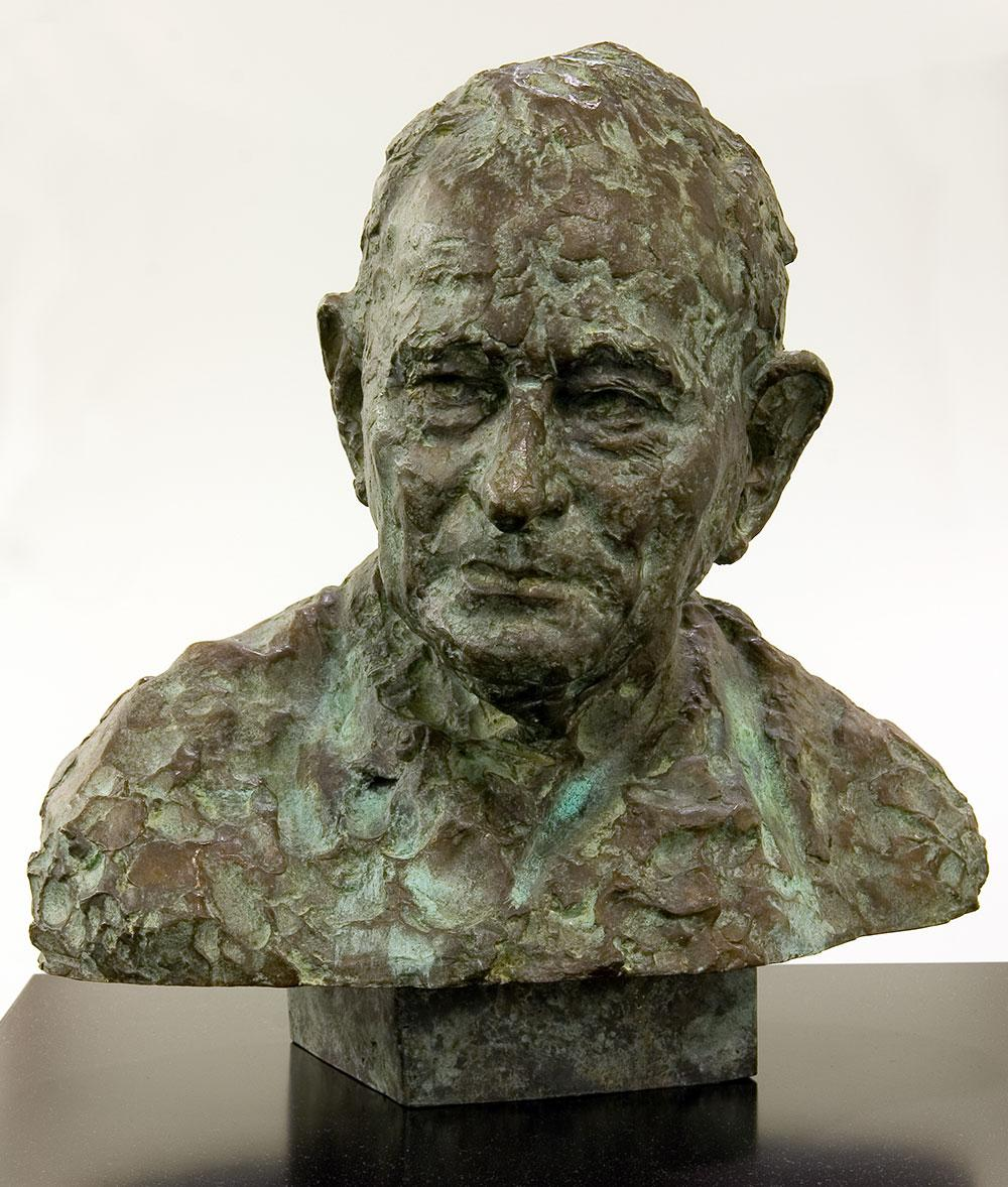 Bust of Charles P Mountford