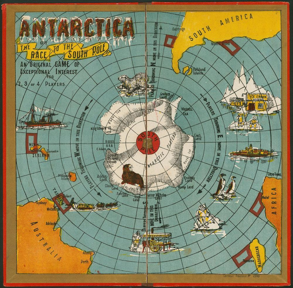 Antarctica board game [B 1744387]