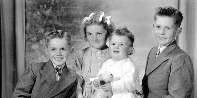 Coutanche children taken in 1951, part of the Arthur Collection [BRG 347/3730]