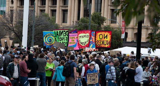 Climate Change Rally, Adelaide 20 September 2019