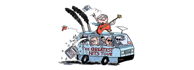 Behind the lines 2019 Greatest Hits Tour Jon Kudelka
