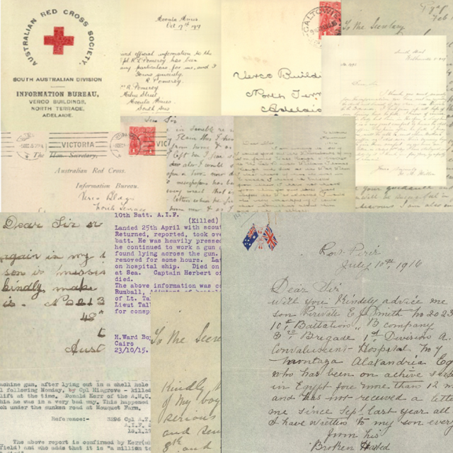 Red Cross Letter packets
