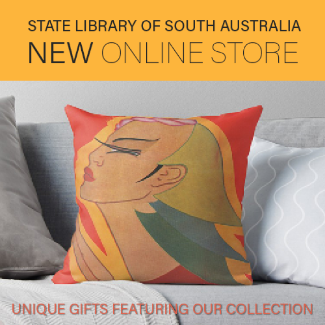 Online gift store, State Library of South Australia, Unique gifts featuring our collection