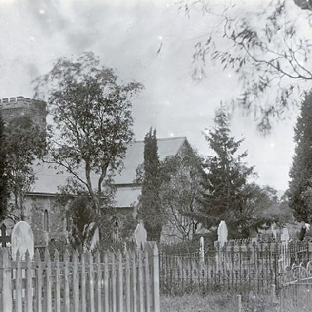 St Mary's Church, South Road, c. 1910 [B 23387]